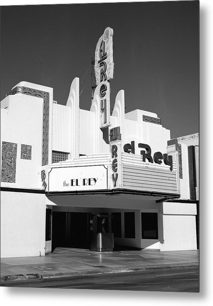 The El Rey Metal Print