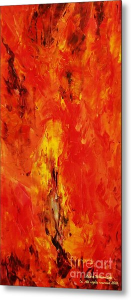 The Elements Fire #1 Metal Print