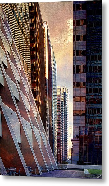 The Elevated Acre Metal Print