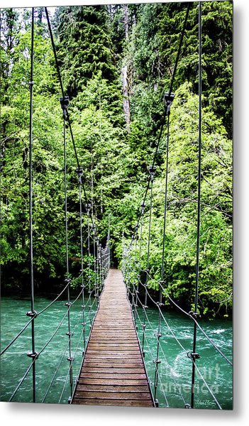 The Emerald Crossing Metal Print