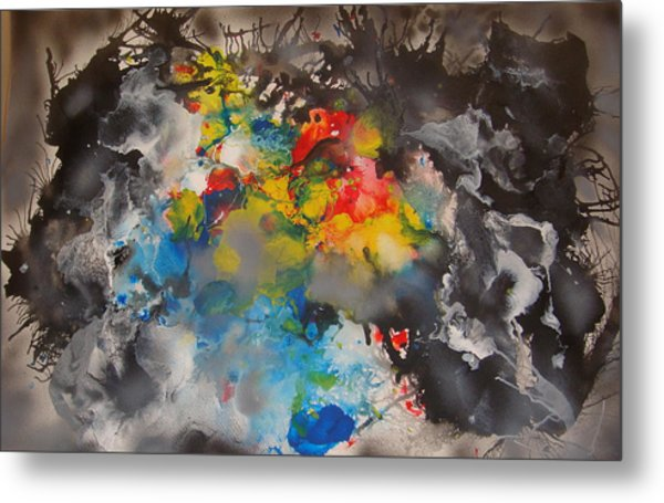 The Emergence Of Color Metal Print