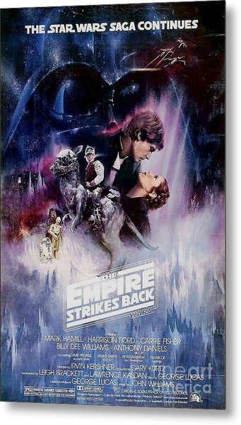 The Empire Strikes Back Metal Print by Baltzgar