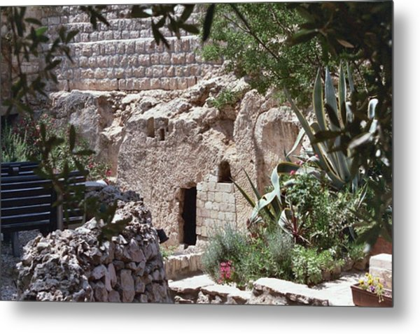 The Empty Tomb Metal Print