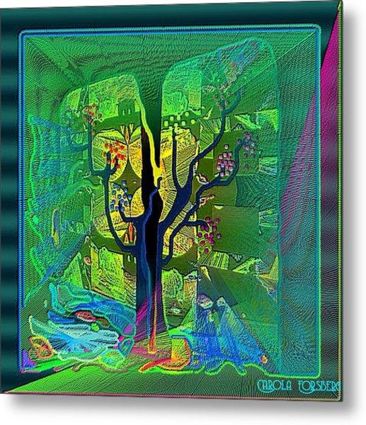 The Enchanted Forest Metal Print by Carola Ann-Margret Forsberg