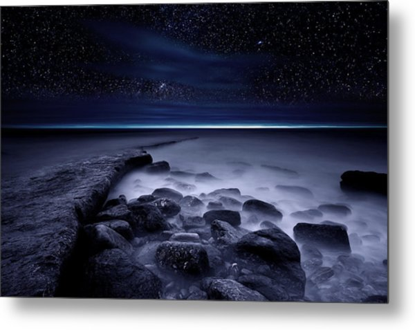 The End Of Darkness Metal Print