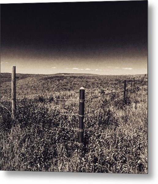 The End Of The Range Metal Print