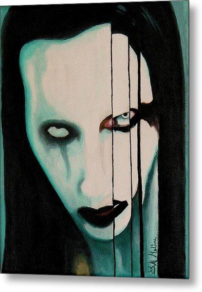 The Enigma Marilyn Metal Print by Al  Molina