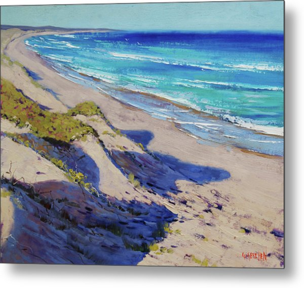 The Entrance Beach Dunes, Australia Metal Print
