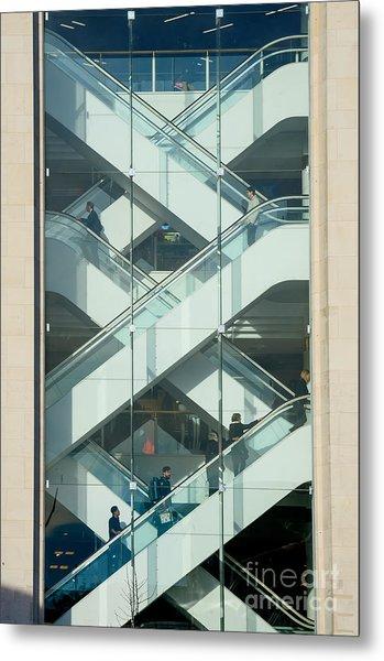 The Escalators Metal Print