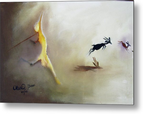 The Escape Metal Print by Okwir Isaac