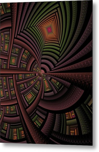 The Eschereschaton Metal Print by Ian Duncan Anderson