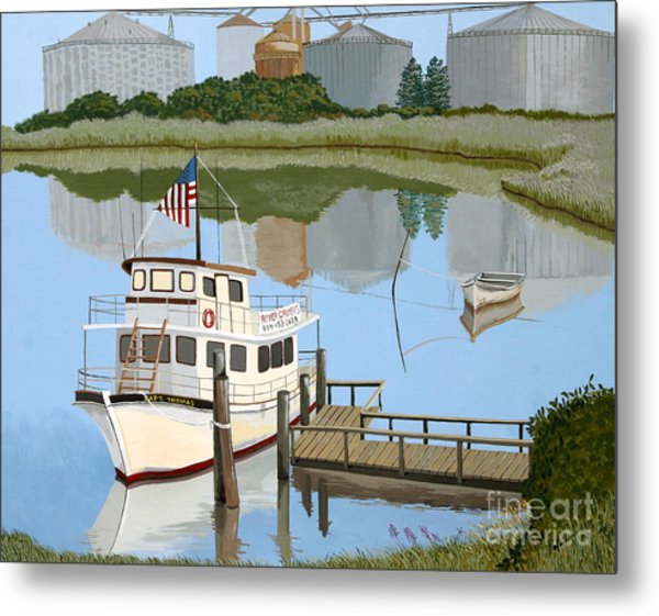 The Essence Of Tappahannock Metal Print by Jennifer  Donald