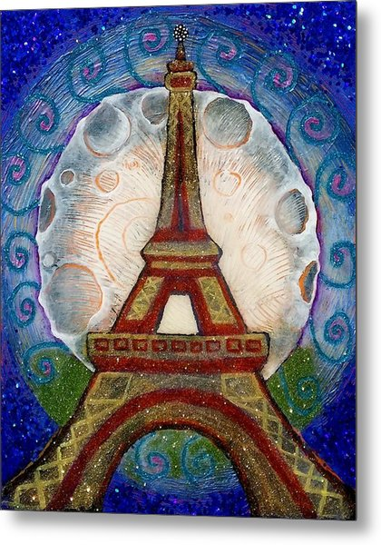The Evening Of A Ready-wish Upon A Parisian High Point Metal Print