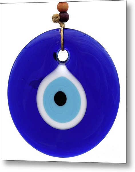 The Eye Against Evil Eye Metal Print