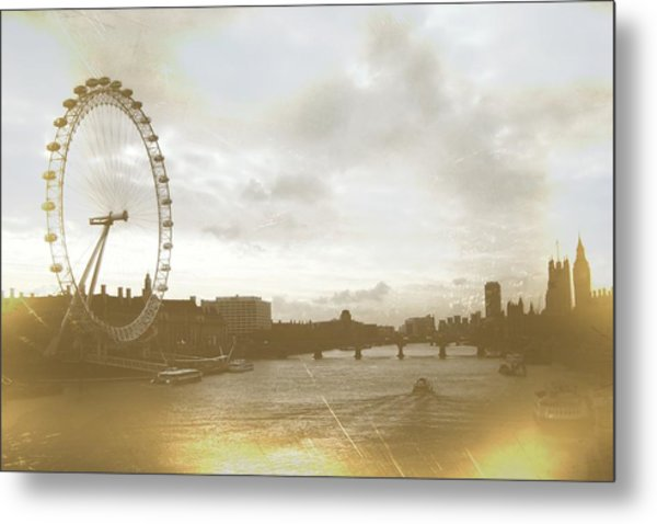 The Eye Of London Art Metal Print by JAMART Photography