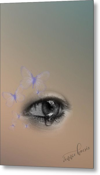 The Eyes Don't Lie Metal Print