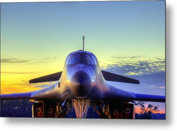 The Face Of American Airpower Metal Print by JC Findley