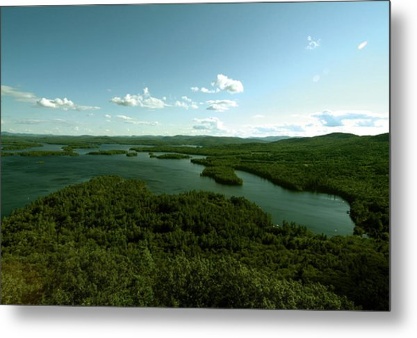 The Face Of Squam Metal Print