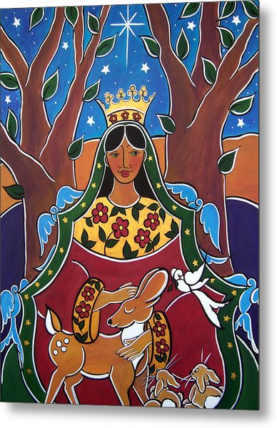 Metal Print featuring the painting The Fairest One by Jan Oliver-Schultz