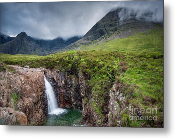 The Fairy Pools Metal Print