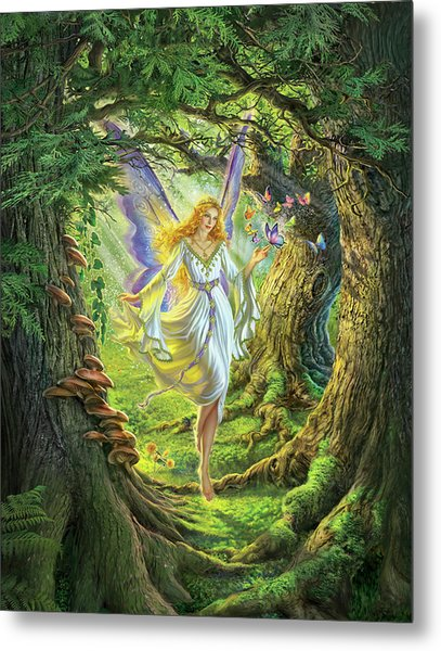The Fairy Queen Metal Print