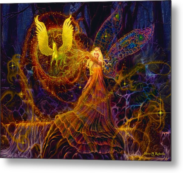 The Fairy Spell Metal Print