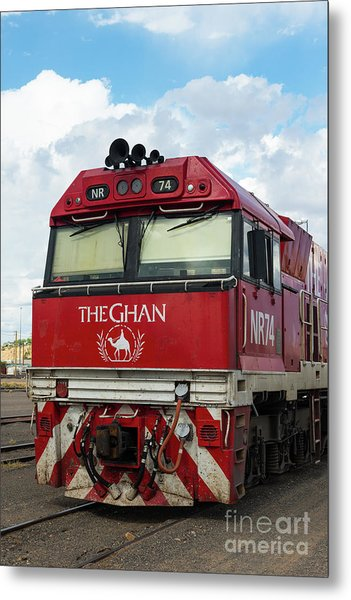 The Famed Ghan Train  Metal Print