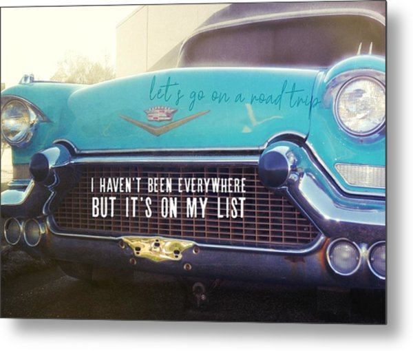 The Famous 57 Seville Quote Metal Print