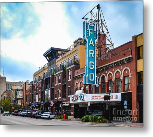 The Fargo Theater Metal Print