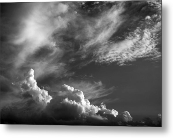 The Fine Art Of Clouds Metal Print by Jim  Darnall