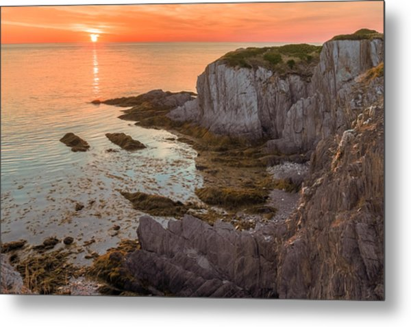 Nova Scotian Sunset Metal Print