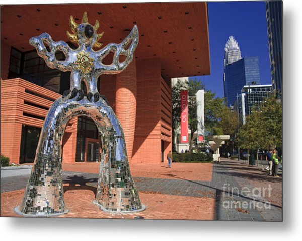 The Firebird At The Bechtler Museum In Charlotte Metal Print