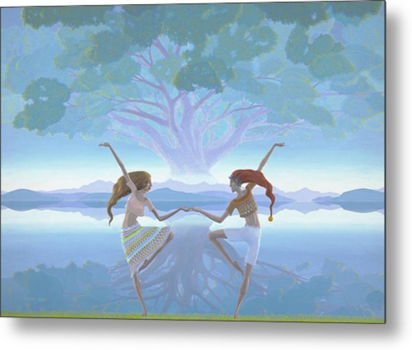 The First Dance Metal Print by Jonathan Day