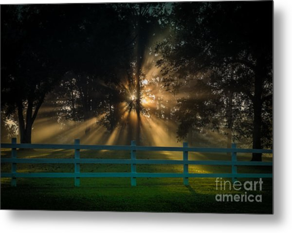 The First Day Of Creation Metal Print