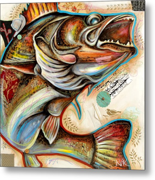 The Fish Metal Print