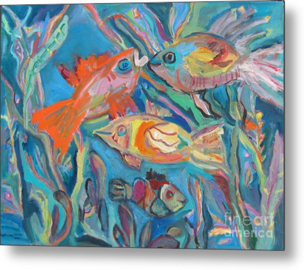 The Fish Metal Print by Marlene Robbins