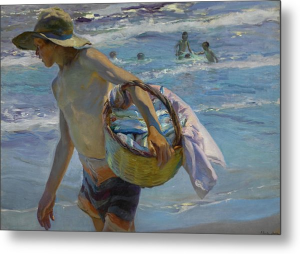 The Fisherman Metal Print