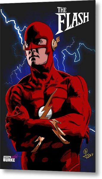 The Flash 1990 Metal Print by Joseph Burke