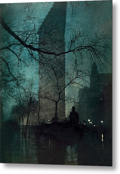 The Flatiron Building Metal Print