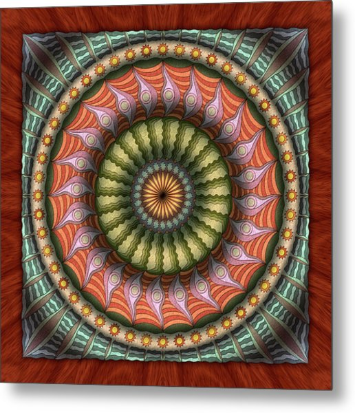 The Flowering Of The Sunshine Moons Metal Print