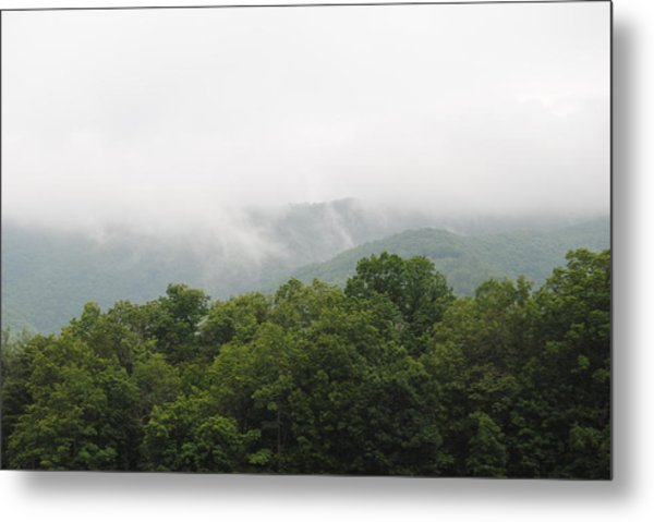 The Fog Metal Print by Christopher Rohleder