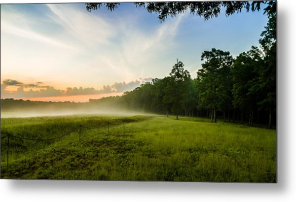 The Fog Of War Metal Print
