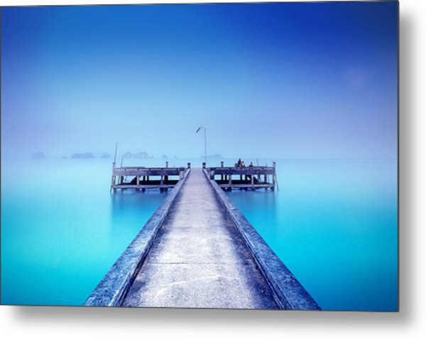 The Foggy Morning Metal Print