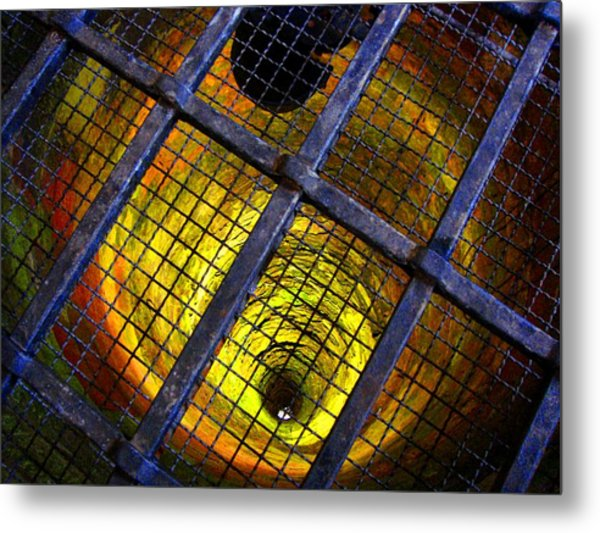 The Forbidden Well Metal Print by Roberto Alamino