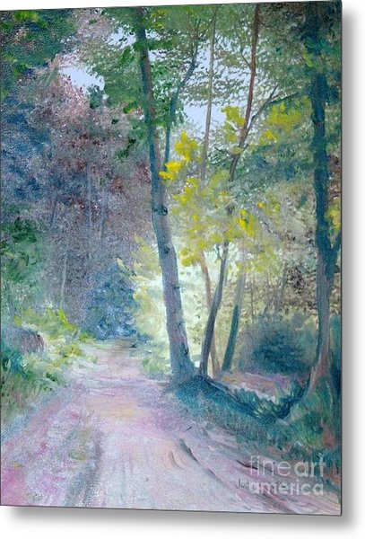The Forest Metal Print by Judy Groves
