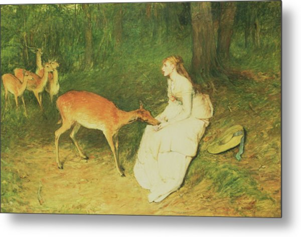 The Forest Pet Metal Print