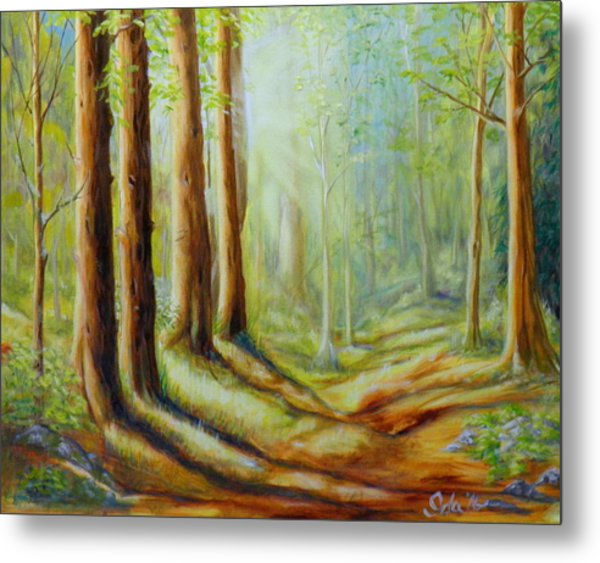 The Forest's Spell Metal Print