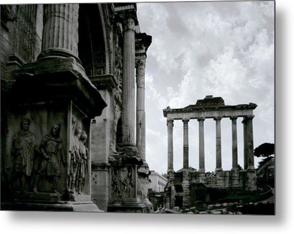 The Forum Metal Print by Warren Home Decor
