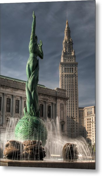 The Fountain Of Eternal Life Metal Print