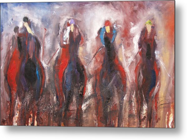 The Four Horsemen Metal Print
